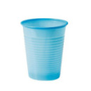 25 gobelets plastique turquoise - 20 cl