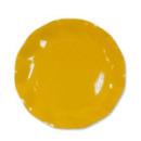 10 grandes assiettes rondes en carton jaune party line 27 cm