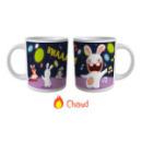 Mug change couleur Les Lapins Crétins™