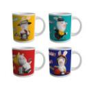 Coffret cadeau de 4 mugs Les Lapins Crétins™