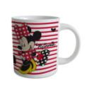 mug minnie™ rayé rouge