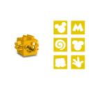 Emporte-pièce cube jaune Mickey™