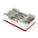500 fourchettes en plastique rigide metallisé 19 cm