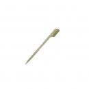 250 piques plat en bambou - 10,5 cm
