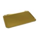 25 plateaux de service rectangle or 25x34 cm