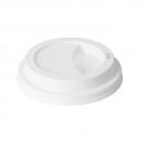 50 Couvercles en plastique blanc pour gobelets IZZA 35 cl