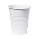 100 Gobelets en plastique blanc 21 cl