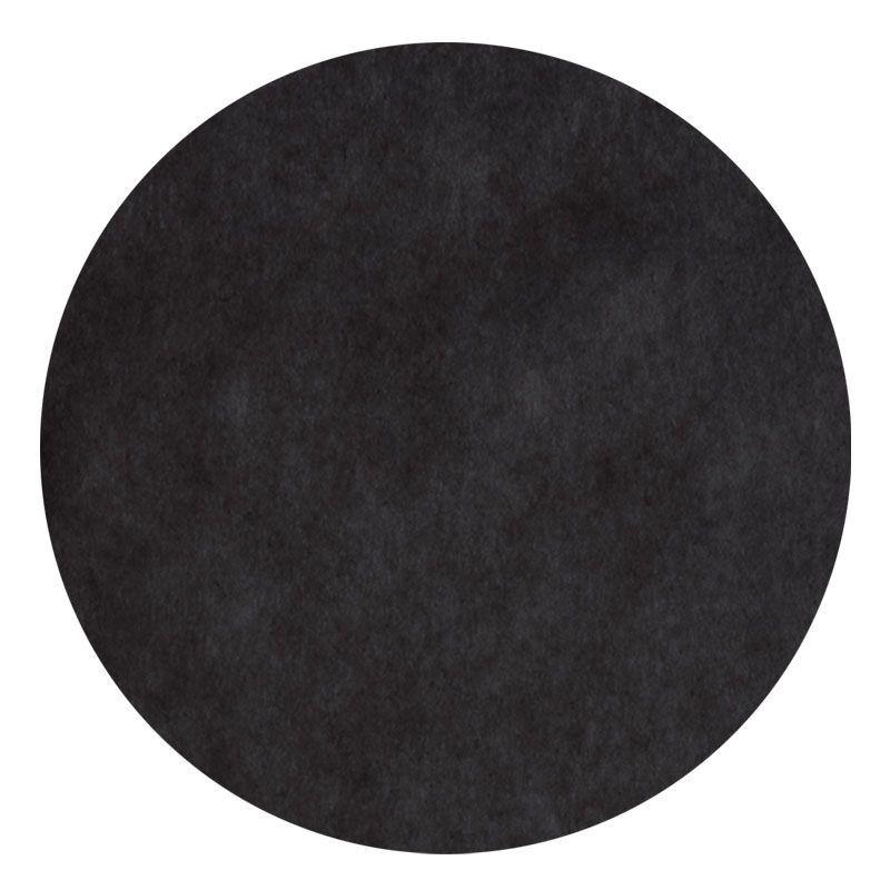 Set de table noir 10 pi ces for Set de table rond noir